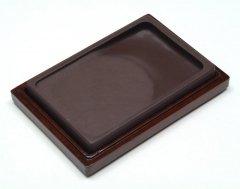 宋坑 長方淌池硯  5インチ【規格品】