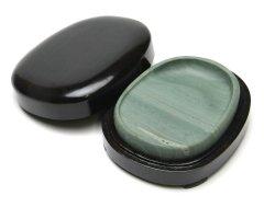 松花江緑石 楕円型 4インチ【規格品】