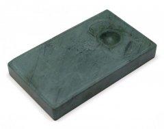 洮河緑石硯  (爛灯) 5インチ【規格品】