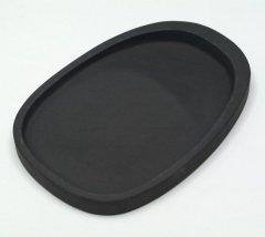 羅紋硯 楕円7インチ 【規格品】