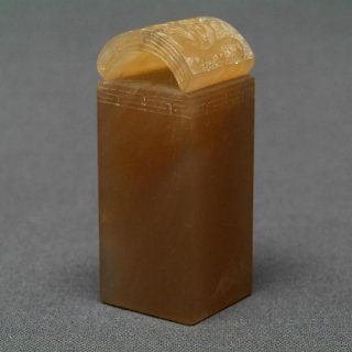 【規格品】 印材 瓦柱 巴林彩凍石 角1.8〜2.0cm 長4.5〜5.5�
