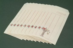 漢韻堂 木版封筒 拱花 10枚