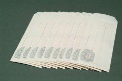 漢韻堂 木版封筒 玉璧 10枚