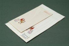 手漉木版 便箋封筒セット 唐子