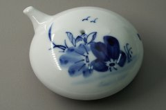 水滴 饅頭型 青花