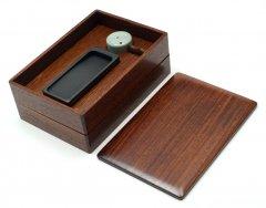 硯箱(重箱型) 硯付き