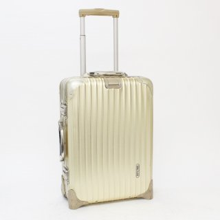 800278★激レア 正規品★リモワRIMOWA★トパーズゴールド 機内持込可スーツケース 915.52 2輪 32L★