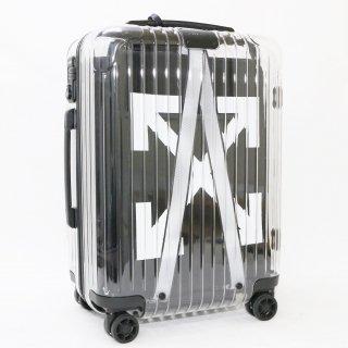 274118★正規品★リモワRIMOWA×OFF-WHITE★See Through 機内持込可スーツケース 832.90.00.4 4輪 36L★