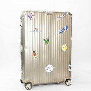 リモワRIMOWA★トパーズチタニウム 海外旅行用大型スーツケース 945.77 4輪 98L★100790★正規品★