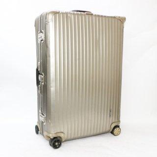 リモワRIMOWA★トパーズチタニウム 海外旅行用大型スーツケース 945.77 4輪 98L★070960★正規品★