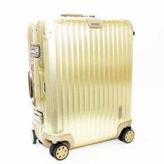 リモワ RIMOWA★トパーズゴールド 国内外旅行用スーツケース 917.56 4輪 45L★900040★激レア!正規品★