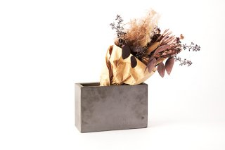 icci / kawara dried flower vase(rectangle)