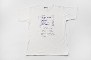 WHITE LINE / MARK GONZALES TEE