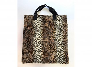 TWEEDMILL / LEOPARD TOTE BIG