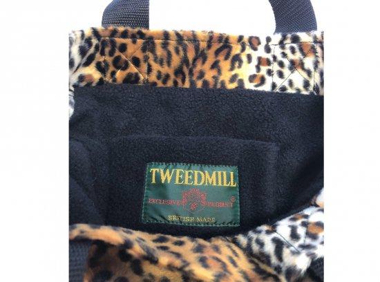 TWEEDMILL / LEOPARD TOTE SMALL