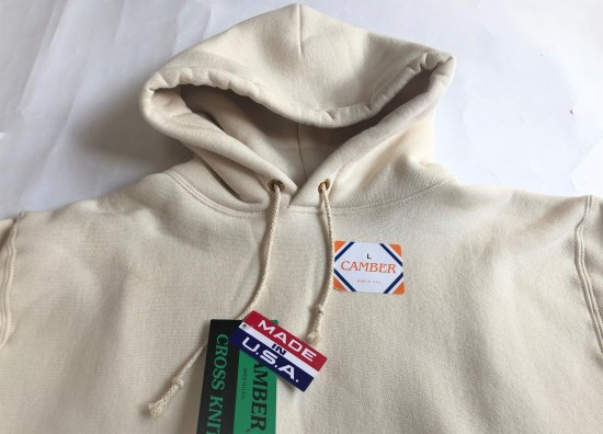 CAMBER / Cross Knit Pull Over Hooded Parka