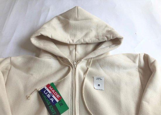 CAMBER / Cross Knit Zipper Hooded Parka