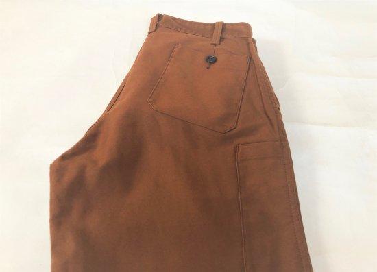 LE SANS PAREIL / Cotton Moleskin Traditional Work Pants