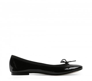 repetto(レペット) BALLERINA CENDRILLON PATENT LEATHER BLACK [WOMEN]