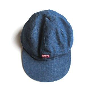 WESTOVERALLS(ウエストオーバーオールズ) WEST'S DENIM CAP [UNISEX]