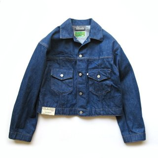 WESTOVERALLS(ウエストオーバーオールズ) 857B DENIM TRACKER JACKET ONEWASH [UNISEX]
