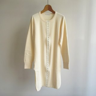 PHEENY(フィーニー) HONEYCOMB FRONT HOOK TAPE L/S [WOMEN]