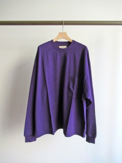 unfil(アンフィル) COTTON FLANNEL JERSEY LONG SLEEVE TEE