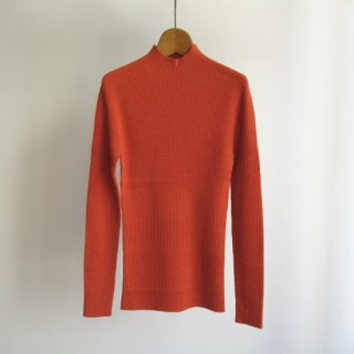 unknot(アンノット) HIGH NECK RIB KNIT [WOMEN]