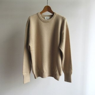 HERILL(ヘリル) CASHMERE GOLDENCASH CREW NECK KNIT