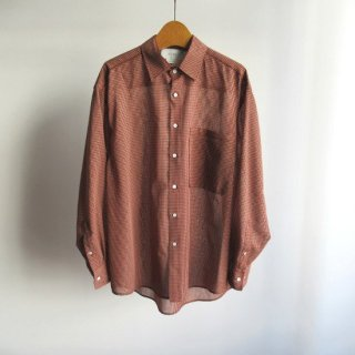 YOKE(ヨーク) OVERSIZED CHECK SHIRTS