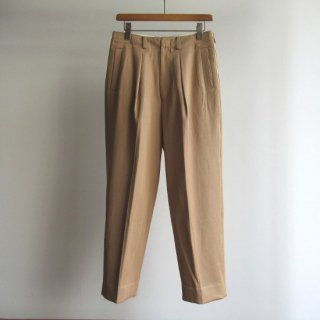 YOKE(ヨーク) 1TUCK WIDE TROUSERS