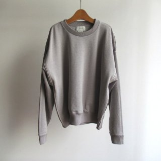 YOKE(ヨーク) OVERSIZED PIPING SWEAT