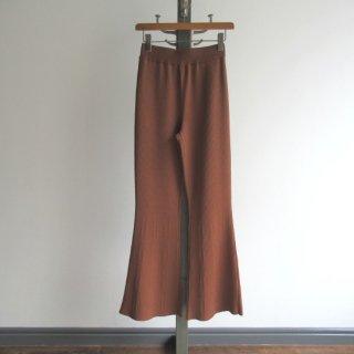 TAN(タン) SMOOTH FLARE PANTS [WOMEN]