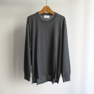 FLISTFIA(フリストフィア) WASHABLE WOOL PULLOVER KNIT