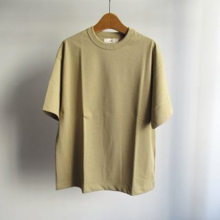 unfil(アンフィル) ORGANIC COTTON JERSEY SHORT SLEEVE TEE