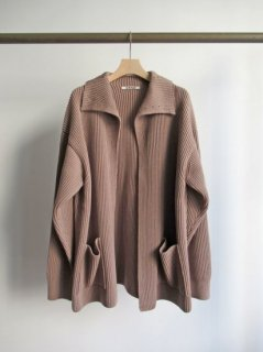 AURALEE(オーラリー) SUPER FINE WOOL RIB KNIT CARDIGAN