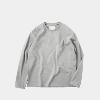 STILL BY HAND(スティルバイハンド) PONCH POCKET LONG SLEEVE TEE