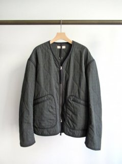 unfil(アンフィル) WASHED BRUSHED COTTON QUILTED JACKET