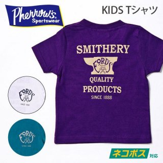 フェローズ PHERROWS キッズTシャツ FORD'S 19S-PT3-K