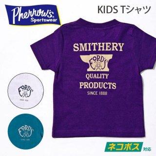 [ネコポス送料200円]フェローズ PHERROWS キッズTシャツ FORD'S 19S-PT3-K