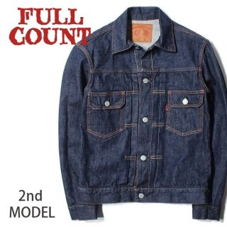 フルカウント デニムジャケット ジージャン Gジャン 2nd MODEL セカンドモデル 2102 FULLCOUNT