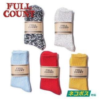 フルカウント FULLCOUNT ソックス 靴下 6105