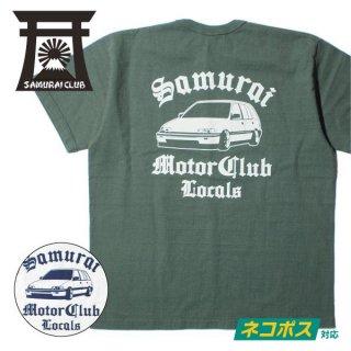 サムライ自動車倶楽部 SAMURAI CLUB Tシャツ LOCALS SMT19-101