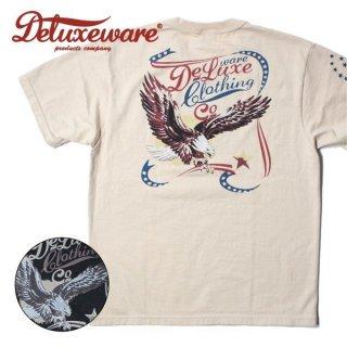 デラックスウエア DELUXEWARE プリント Tシャツ US EAGLE BRG-19A