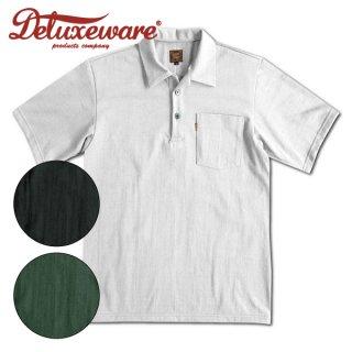 デラックスウエア オープンカラーTシャツ カジュアルポロシャツ 半袖 OCT-13 DELUXEWARE