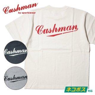 クッシュマン CUSHMAN プリント Tシャツ CUSHMAN ロゴ 26443