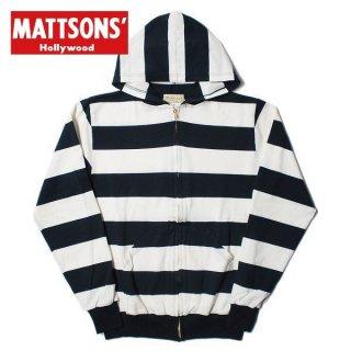 マトソンズ フルジップ パーカー 66127 MATTSONS ワイドボーダー