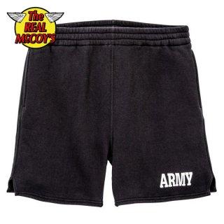 ザ リアルマッコイズ フィジカルフィットネス スウェットショーツ ARMY ショートパンツ MC19001 THE REAL McCOY'S