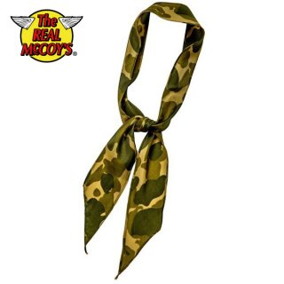 ザ リアルマッコイズ WW2 PARACHUTE SCARF MA19006 THE REAL McCOY'S