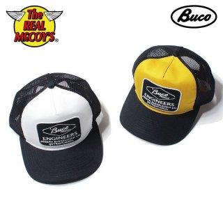 ザ リアルマッコイズ BUCO MESH CAP / ENGINEERS メッシュキャップ BA19001 THE REAL McCOY'S